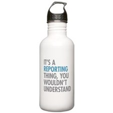 Reporting Thing Water Bottle
