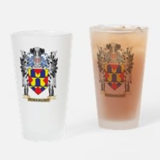 Pendergast Coat of Arms - Family Cr Drinking Glass