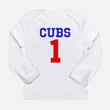 CUBS #1 Long Sleeve Infant T-Shirt