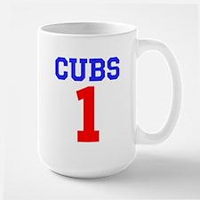 CUBS #1 Large Mug