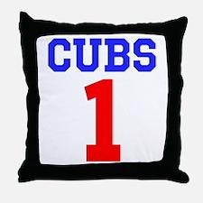 CUBS #1 Throw Pillow