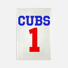CUBS #1 Rectangle Magnet