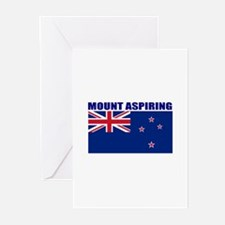Mount Aspiring Greeting Cards (Pk of 10)