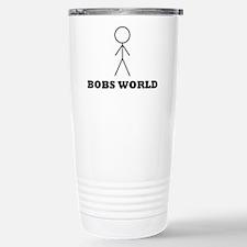 Unique Stickman Travel Mug