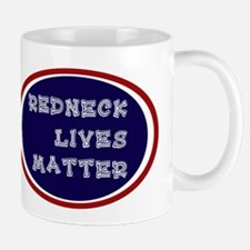 Redneck White and Blue Mugs
