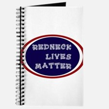 Redneck White and Blue Journal