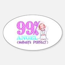 99% Perfect Oval Decal