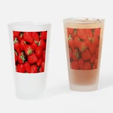 Strawberry Flip Drinking Glass