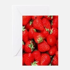 Strawberry Flip Greeting Card
