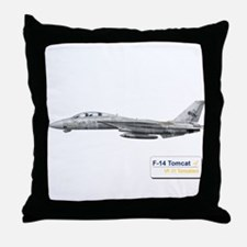 VF-31 Tomcatters Throw Pillow