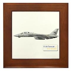 VF-31 Tomcatters Framed Tile