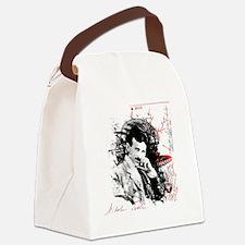 Nikola Tesla Canvas Lunch Bag