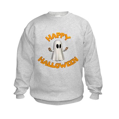 Halloween Ghost Kids Sweatshirt