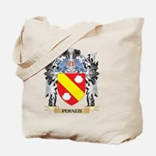 Perazzi Coat of Arms - Family Crest Tote Bag