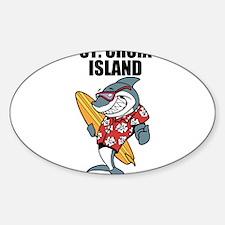 St. Croix Island Decal