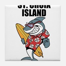 St. Croix Island Tile Coaster