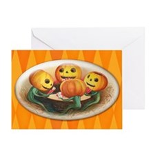 TLK006 Halloween Pumpkins Greeting Card