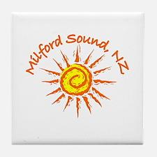 Milford Sound, New Zealand Tile Coaster