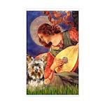 Mandolin Angel / Yorkie (17) Sticker (Rectangle)