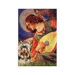 Mandolin Angel / Yorkie (17) Rectangle Magnet (10