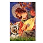 Mandolin Angel / Yorkie (17) Postcards (Package of