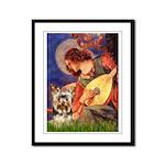 Mandolin Angel / Yorkie (17) Framed Panel Print