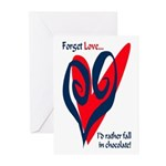 Forget Love Greeting Cards (Pk of 10)