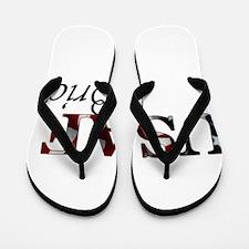 Bride USAF_flag .png Flip Flops