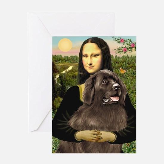 Mona's Newfoundland (B2) Greeting Card