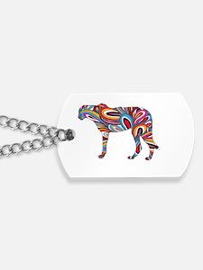 Cheetah Colors Dog Tags
