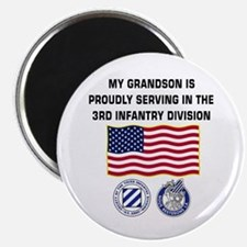 My Grandson is in the 3ID Magnet