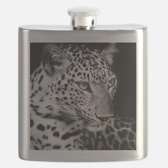 White Leopard Flask