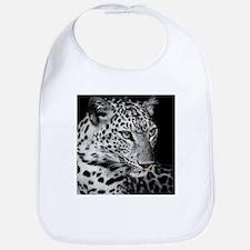 White Leopard Bib