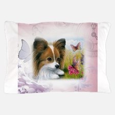 Dog 123 Papillon Pillow Case