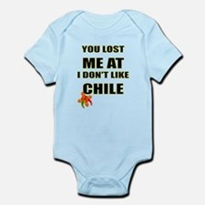 YOU LOST ME AT I DON'T LIKE CHILE Body Suit