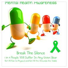 Mental Health Awareness Poster