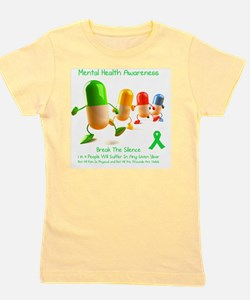 Mental Health Awareness Girl's Tee