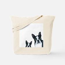 Dog 128 Boston Terrier Tote Bag