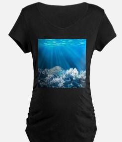 Tropical Reef Maternity T-Shirt