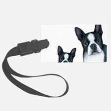 Dog 128 Boston Terrier Luggage Tag