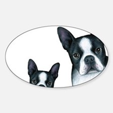 Dog 128 Boston Terrier Decal