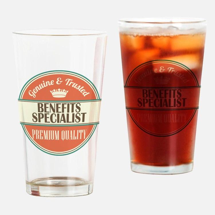 Benefits Specialist Drinking Glass