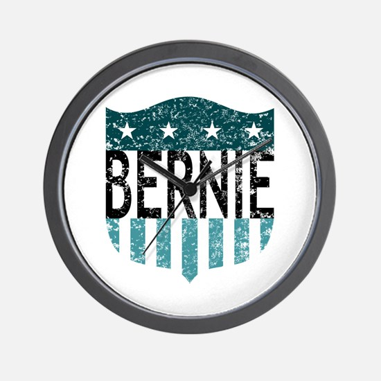 bernie stars and stripes Wall Clock