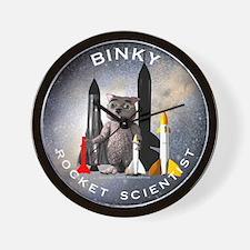 Rocket Scientist Clock