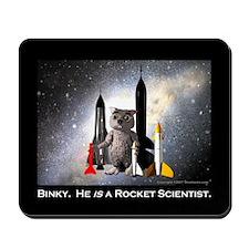 Rocket Scientist Mousepad