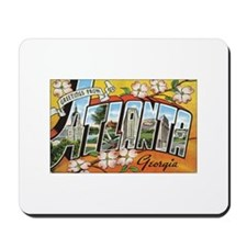 Atlanta Postcard Mousepad