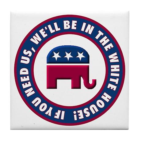 Republican Victory Tile Coaster