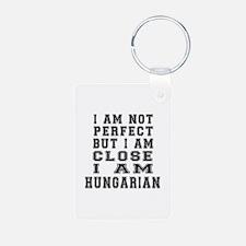 Hungarian Designs Aluminum Photo Keychain