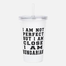 Hungarian Designs Acrylic Double-wall Tumbler