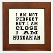 Hungarian Designs Framed Tile